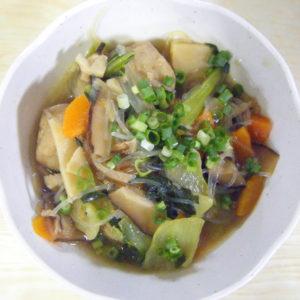 肉団子の中華風煮
