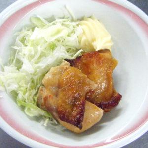 鶏肉のピリ辛焼き